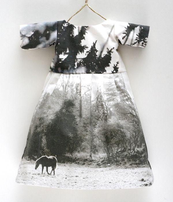 Image of Lumi Summer dress #1 (part of doll set)