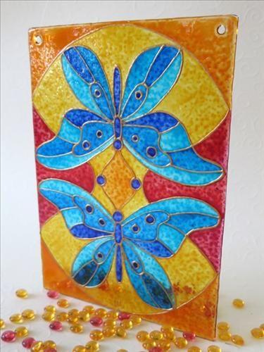 #dekorativnísklo #decorativeglass #malovanésklo #handpaintedglass #mandala