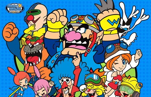 "#Warioware characters from the #gamecube outing of the #Wario crew. More great multiplayer ""mario"" games to play with friends: http://www.superluigibros.com/top-10-multiplayer-mario-games"