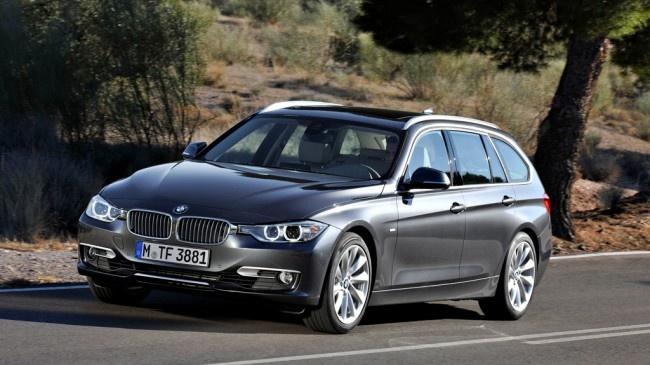 """Po nowej """"trójce"""" sedan, BMW w końcu zaprezentowało Touringa, czyli praktyczniejszą odmianę kombi. Premiera samochodu odbędzie się na początku czerwca na targach w Lipsku. Do kompletu nowej serii 3 brakuje już tylko wersji coupe i cabrio"""