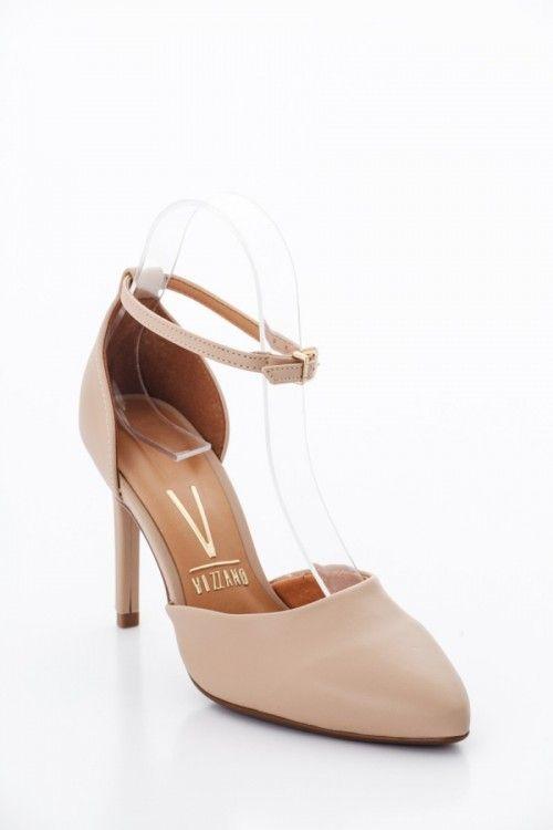 Beige Vizzano Női Magassarkú cipő Kép