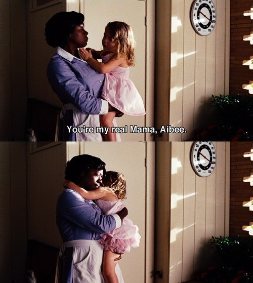 AWWWWWWW LOVE HER!!!!!!!!!! This part is so sad though!!!!! Mae Mobley is so cute though!!!! <3