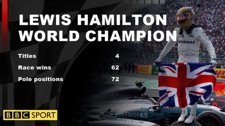 Lewis Hamilton clinched his fourth world title at the Mexican Grand Prix despite finishing only ninth after a clash with rival Sebastian Vettel.  Hamilton's fourth world title makes him unquestionably the most successful British Formula 1 driver in history, moving him one championship clear of Sir Jackie Stewart.