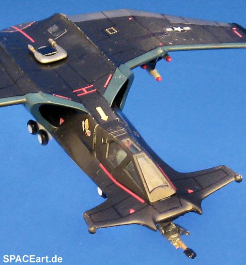 Space 2063: SA-43 Hammerhead Fighter, Modell-Bausatz ... http://spaceart.de/produkte/sab001.php