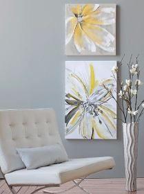 Cuadros Modernos 100x100 Abstractos Tripticos Texturados - $ 3.119,99