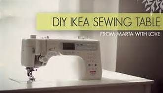 IKEA Sewing Room Ideas - Bing Images. Lots of great pictures of sewing and craft rooms!