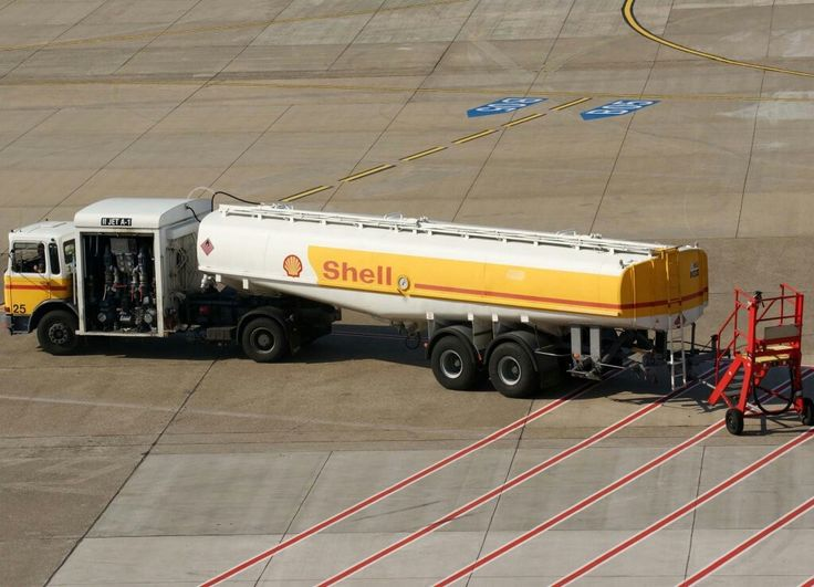 Shell Aviation Fuel Truck, EDDL-DUS, Düsseldorf, 26.09.2008
