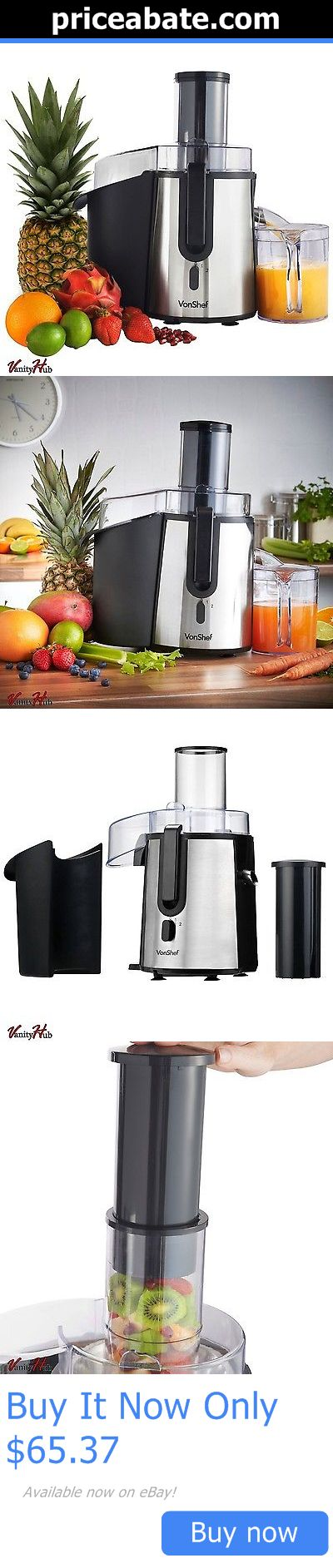 Small Kitchen Appliances: Electric Fruit Juicer Vegetable Juice Citrus Extractor Machine Maker Blender New BUY IT NOW ONLY: $65.37 #priceabateSmallKitchenAppliances OR #priceabate