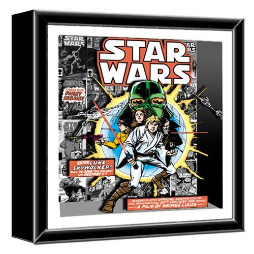 Internet das Coisas!!!: Star Wars Comic Book First Issue Shadowbox