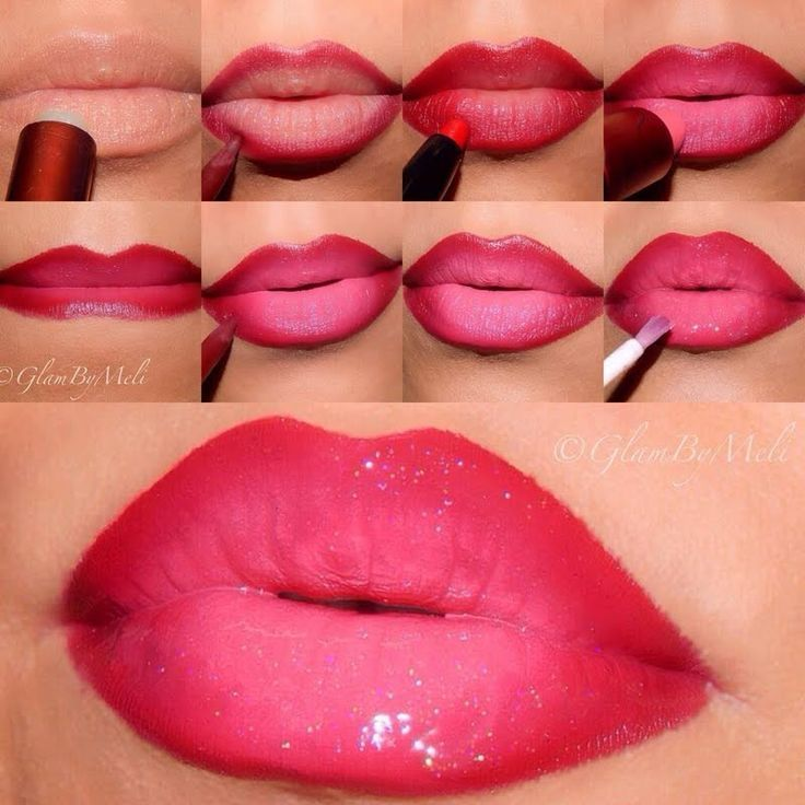❀ ✿ The new makeup trend : Ombre Lips and how to do it! ❀ ✿ | Trend2Wear