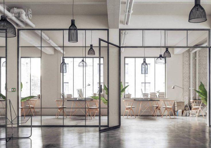 Lekko - Ściany Industrialne do Twojego wnętrza   Biura