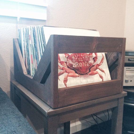 The Milk Crate Alternative 12 Inch Vinyl Record Storage Etsy Record Storage Vinyl Record Storage Vinyl Record Storage Shelf