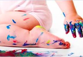When your #child is TOO quiet.  What's the biggest #mess you've found? #kids