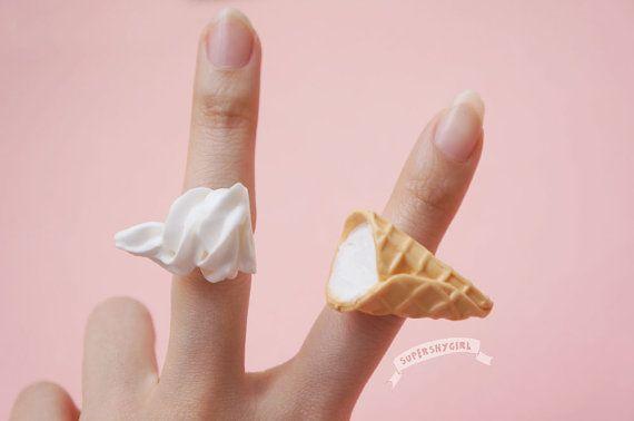 Ice Cream Rings Set