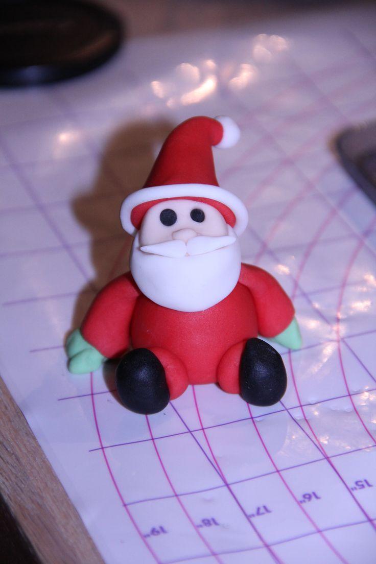 Julemand fra svigerfars kage