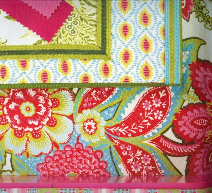 Bold And Bright Fabric By TT. Best Home Design ...