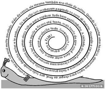 Atividades de Língua Portuguesa: Poema Visual - Caracol