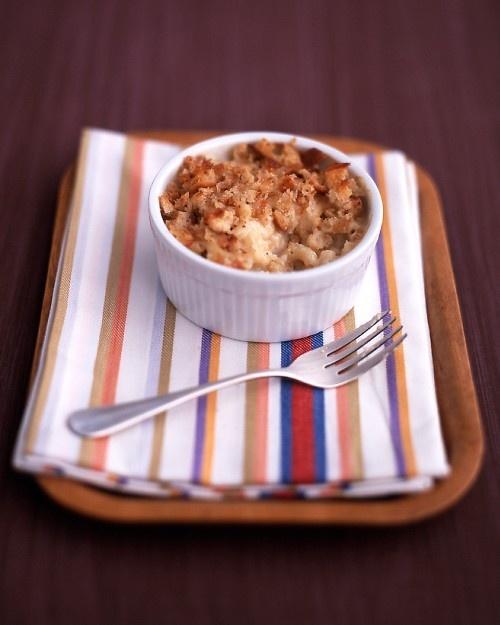 Macaroni and Cheese - Martha Stewart Recipes, can make ahead and put ...