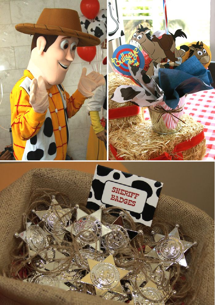 Woody S Cowboy Inspired Round Up Party Toy Story Party