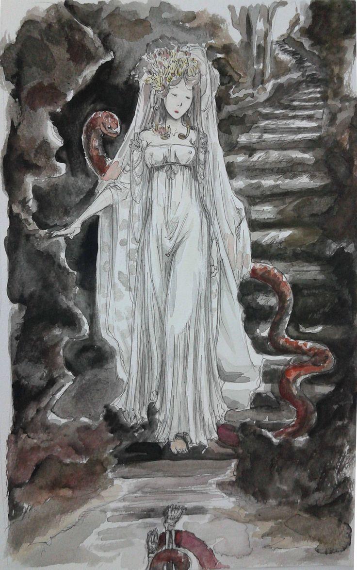 The Descent of Eurydice