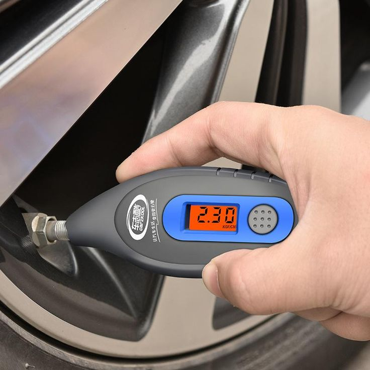 Universal WF-152 Car Digital Tire Pressure Gauge LCD PSI KPA BAR Manometer Electronic Tyre Tester Vacuum Diagnostic Tool