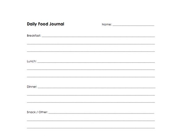 Best 25+ Food journal ideas on Pinterest Weight loss journal - food log templates