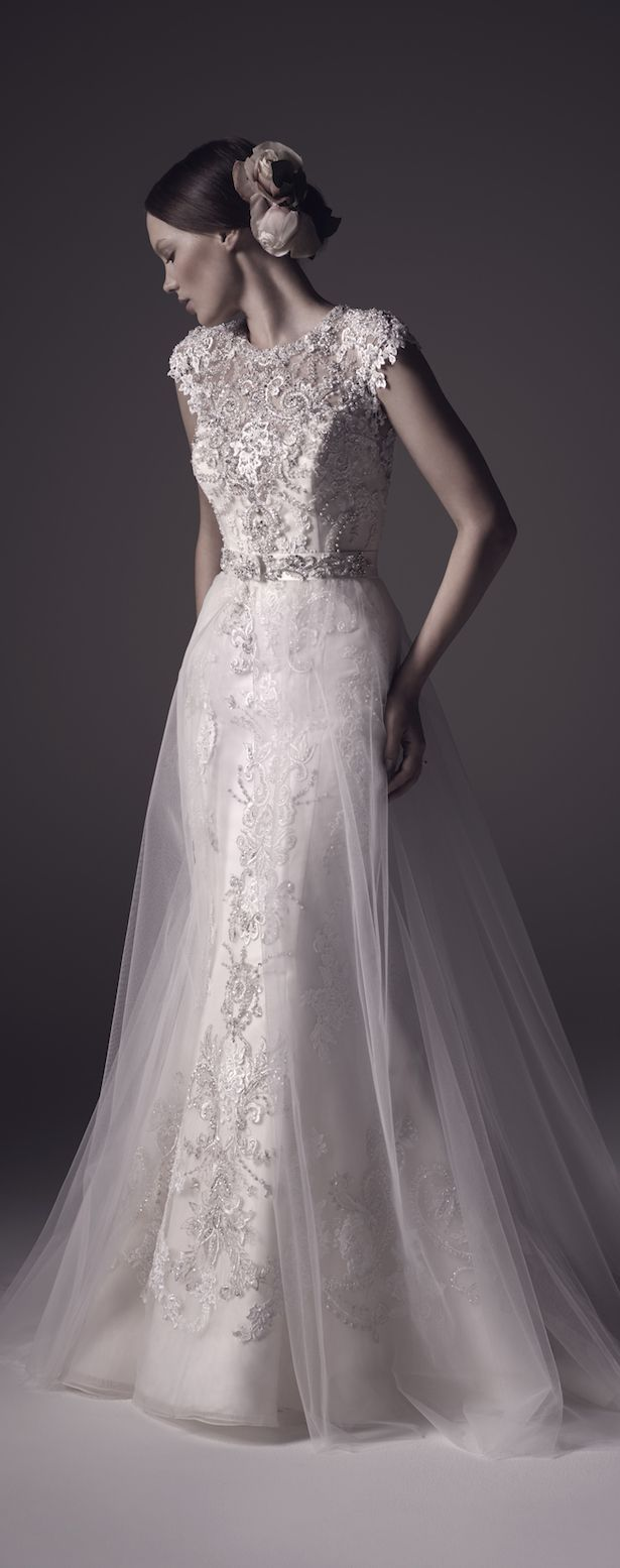 Modern dress des moines - Bridal Trends Wedding Dresses With Detachable Skirts