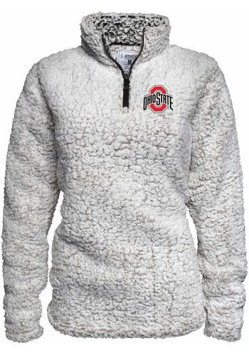 6bb3f6e7c2a0 Make this Ohio State Buckeyes Sherpa Long Sleeve 1 4 Zip Pullover your  go-to gameday Pullover. Rally House has a great selection of new and  exclusive Ohio ...