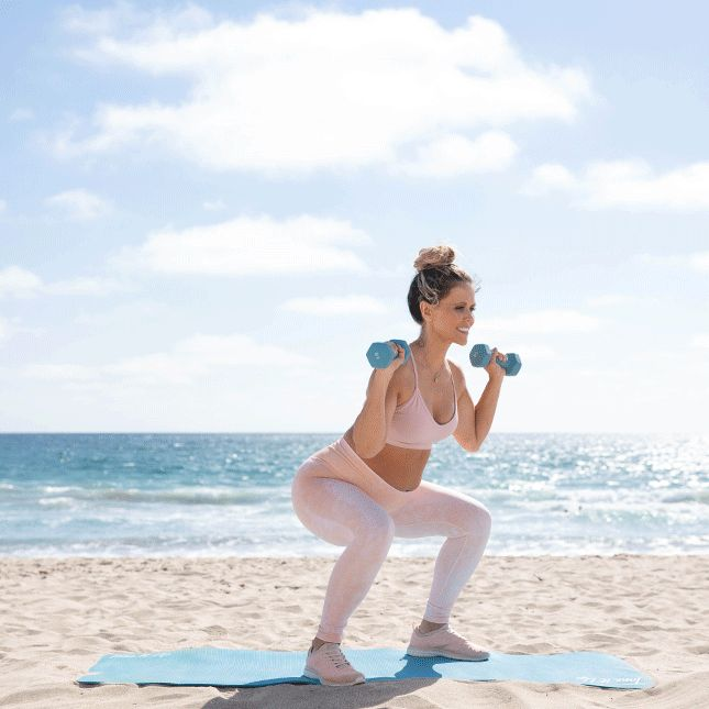 Kettlebell Exercises During Pregnancy: Baby On The Way? Try This 15 Minute Total-Body Workout