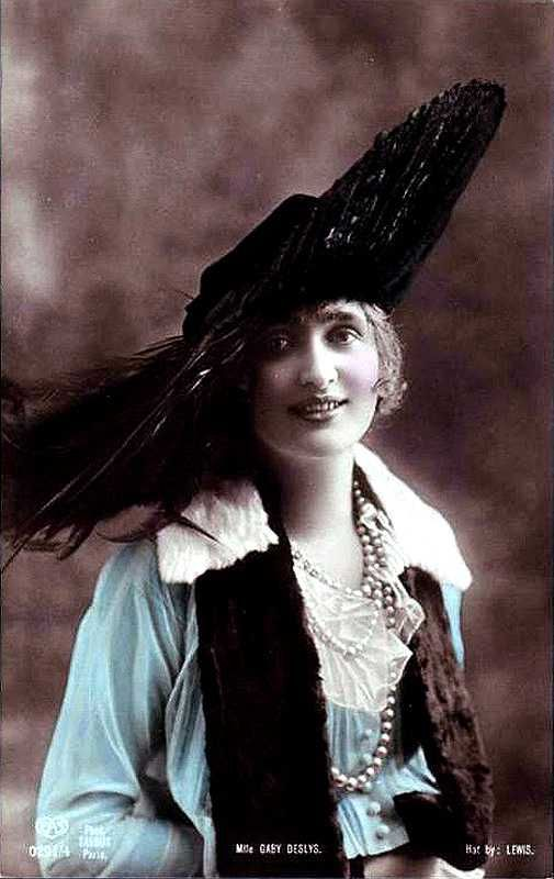 High resolution pictures of the dancer and silent film star - Gaby Deslys