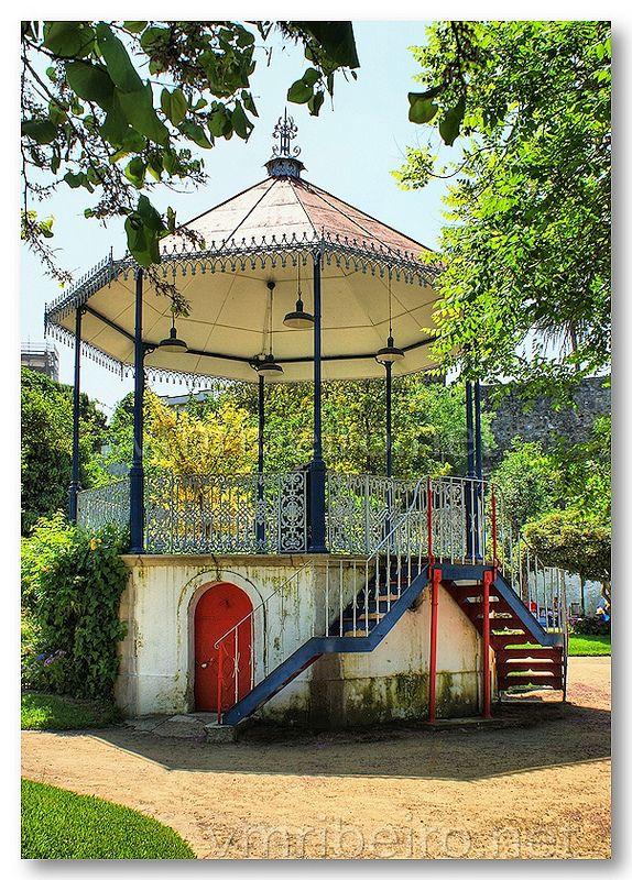 Coreto em Moura, Portugal ♥ | ©