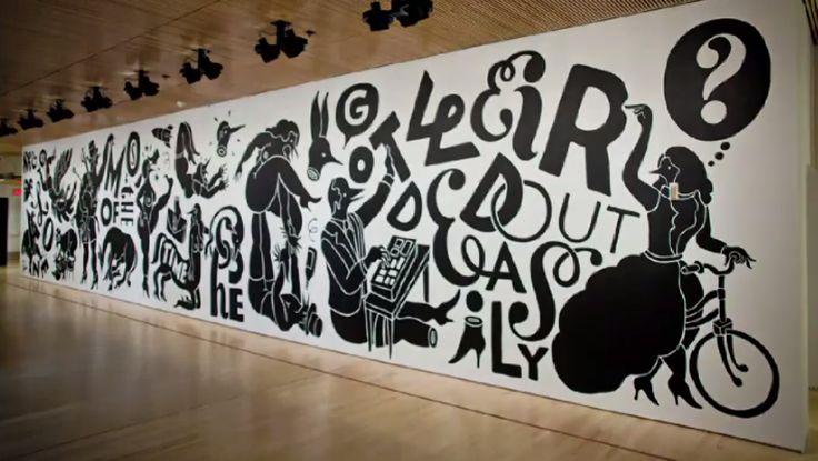 Parra mural in sfmoma murals pinterest illustrations for Mural 7 de setembro