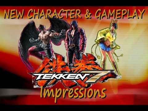 Tekken 7 New Character Gameplay Opinion/Impressions, Jin Kazama, Devil Jin and Josie - YouTube