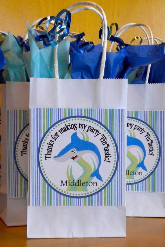 Best 25 Shark Party Favors Ideas On Pinterest Ocean