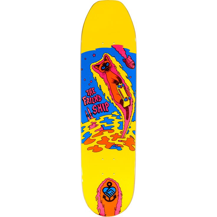 Explore the lastest skateboards decks from The Friend Ship Skateboards with free shipping available at Warehouse Skateboards.