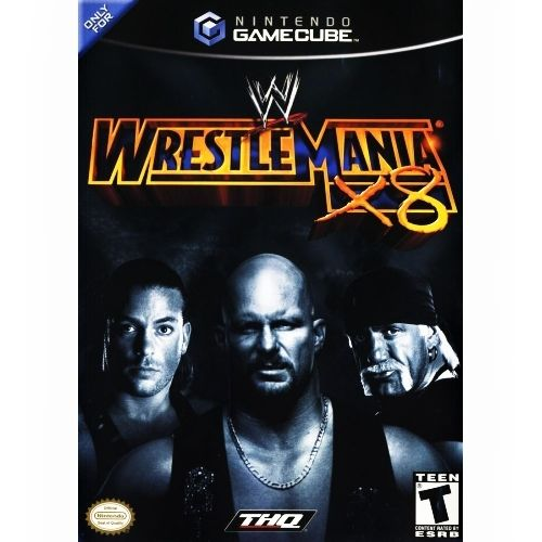 Today in Gaming History  THQ provided us THE SHOWCASE OF THE IMMORTALS with their release of WWE WrestleMania X8 for the Nintendo GameCube today in 2002! That's right all-new superstars, high-flying TLC matches and so much more theirs no way you'll escape the cage!  Game On Video Game Depot  http://lnk.al/4xIz