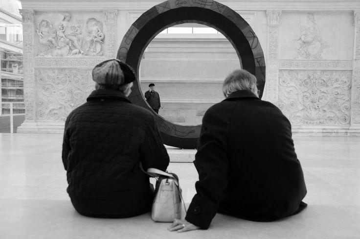 Coppia e scultura