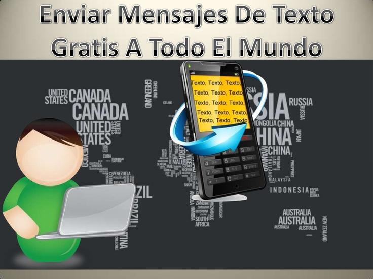 enviar-mensajes-de-texto-gratis-a-todo-el-mundo by Creativos Web Freelance Group via Slideshare
