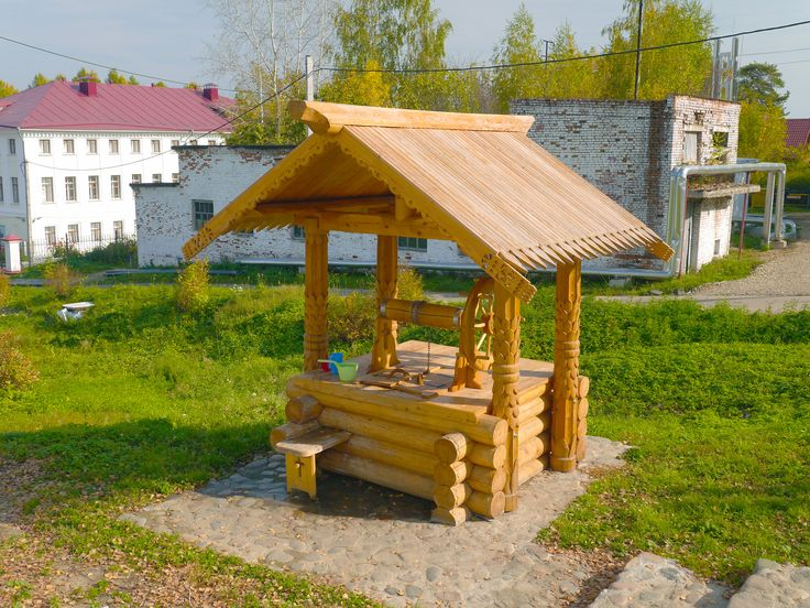Russian log well