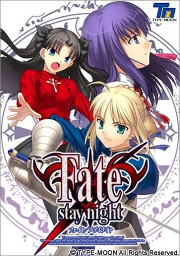 USED F/S PC Windows Game Fate stay night Japan Bishoujo Eroge Galge Anime #TYPEMOON