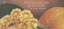 Sing to God Thanksgiving Offering Envelope 2015 (Package of 50)