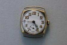 Große Herrenarmbanduhr, um 1900 - Monogramm OH - selten