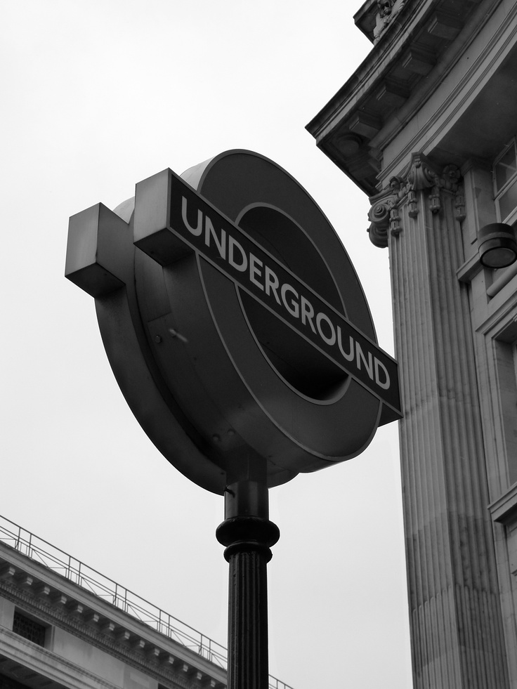 Oxford Circus Station - London  By Audrey J.