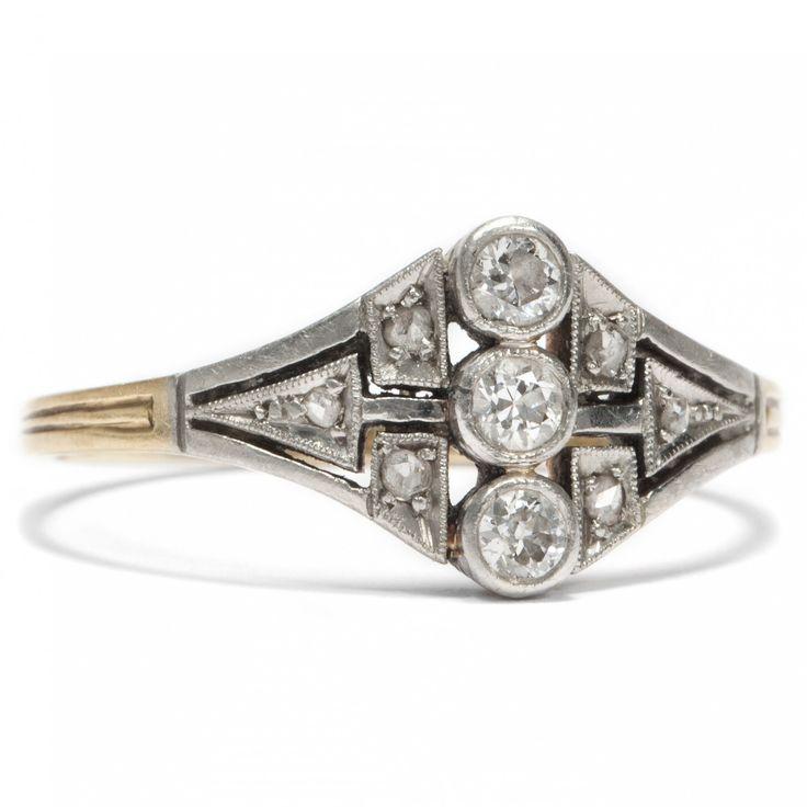 Ausgefallene diamantringe  Die besten 25+ Antike verlobungsringe Ideen nur auf Pinterest ...