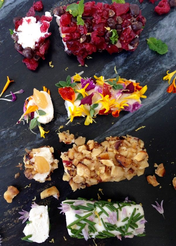 Goat Cheese Log Recipe Ideas #Goat_Cheese  #Appetizers