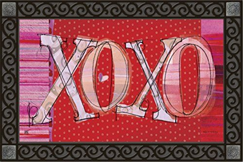 XOXO Valentine's Day Indoor/outdoor Doormat MagnetWorks http://www.amazon.com/dp/B00HER8ZC2/ref=cm_sw_r_pi_dp_RIOTub1KNHGH1