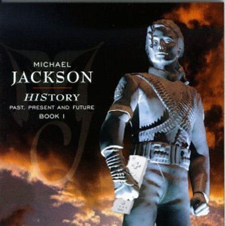 Michael Jackson's HIStory album cover