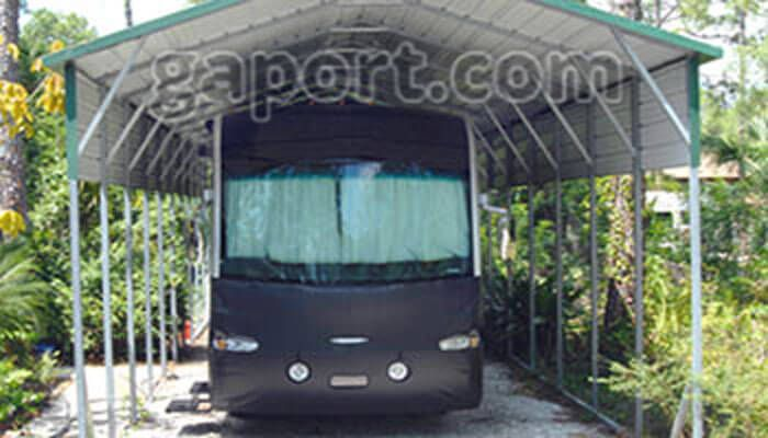 Steel Carports Box Eave Style for your cars