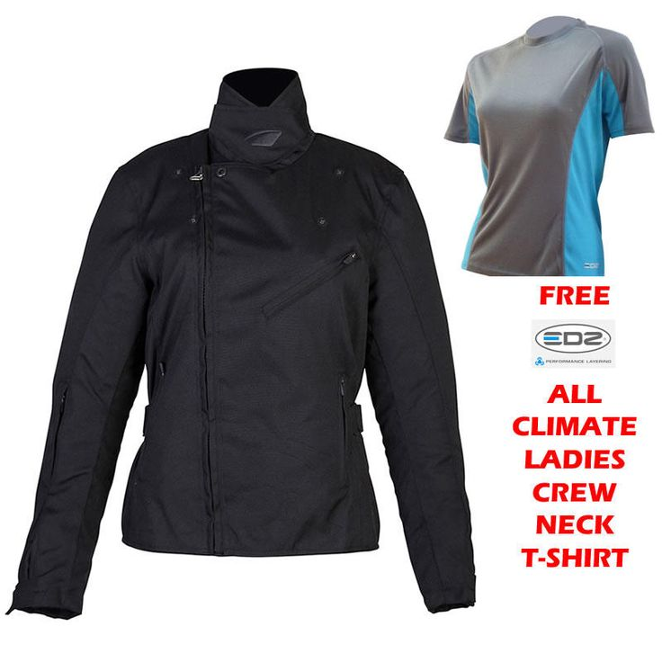 Spada Keira Ladies Jacket Black and FREE EDZ T-Shirt  Description: The Spada Keira Motorbike Jacket is packed with       features…              Specifications include                      Spada Ladies Motorcycle Jacket                    600D high abrasion resistant polyester                    CE approved 5 piece shoulder, elbow and back...  http://bikesdirect.org.uk/spada-keira-ladies-jacket-black-and-free-edz-t-shirt-24/