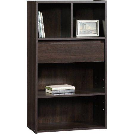 Sauder Bookcase, Cinnamon Cherry, Brown